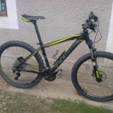 Cube Attention - Mountain Bike, 16 inch, 26 inch, Numar viteze: 30, Aluminiu, Gri-Verde