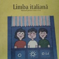 B. Gherman si Geta Popescu - Limba Italiana - Manual cls a V-a - Curs Limba Italiana