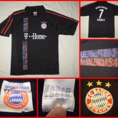 Tricou echipa fotbal - Tricou Fotbal BAYERN MUNCHEN - RIBERY : Tricou De colectie! Destinat colectionarilor, fanilor, suporterilor . RAR
