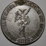 MEDALIE RARA 1926 - JUBILEUL DE 25 ANI : SOCIETATEA VOIAJORILOR COMERCIALI DIN ROMANIA - Medalii Romania