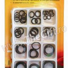 Set 50 garnituri oring diferite diametre motor - Set motor auto, Universal