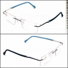 Rama ochelari - STEPPER Rame stepper titan pur Light blue / gold autentice