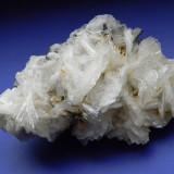 Fosila roca - Specimen minerale - BARITINA PE STIBINA