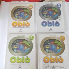 OBLO LATTES, LIMBA ITALIANA .1, 2, 3, LA REGIONI ITALIANO, CURS DE GEOGRAFIE PENTRU SCOLA SECUNDARA F.CASSONE SI D.VOLPI . - Curs Limba Italiana