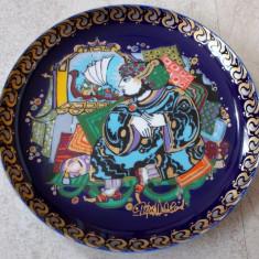 Farfurie - decorativa / de colectie - portelan Bavaria - Rosenthal - Sinbad Marinarul - Nr.4, Farfurii