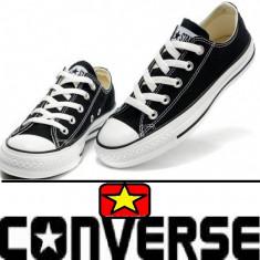 Tenisi Converse - Tenisi barbati Converse, Marime: 37, 39, 43, Culoare: Negru, Textil
