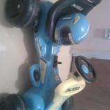 Masinuta electrica copii 2-6ani INJUSA, 4-6 ani, Unisex, Bleumarin