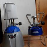 Set pentru campimg - lampa si aragaz de voiaj - cu butelie butan gaz, La Playa, produse noi