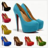 Pantofi dama Christian Louboutin, Piele naturala - Pantofi Christian Louboutin Daffodile - PIELE NATURALA