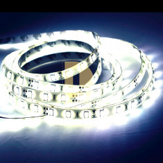 Iluminat decorativ G-View - Banda / benzi led rezistenta la apa IP65, 60 smd 5630 Epi-star /metru - cu 30% mai luminoasa decat SMD 5050