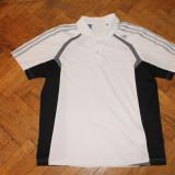 Tricou barbati - Tricou Adidas sport fotbal ClimaLittle alergare polo