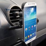 Suport auto grila ventilatie Samsung Galaxy S4 mini i9190 + incarcator auto + folie protectie ecran + expediere gratuita