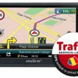 GPS Smailo HDx 5.0 Travel TraficOK Europa, 5 inch, Redare audio: 1, 1 TMC, Touch-screen display: 1, Kit auto: 1