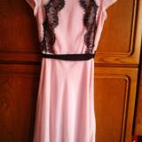 Rochie eleganta- roz deschis - Rochie de seara, Marime: 34, Culoare: Rose, Rose, Midi