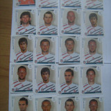 Colectii - PANINI - Champions League 2009-2010 / Besiktas Istambul (20 stikere)