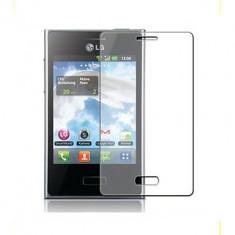 Folie de protectie LG, Lucioasa - Folie LG Optimus L3 E400 Transparenta