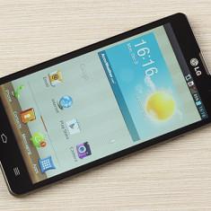 Telefon mobil LG Optimus L9, Negru, Neblocat - Vand LG L9 garantie + aceesorii / schimb cu iphone 4