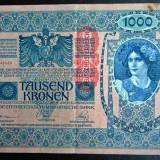 Bancnota Straine - Austria 1000 Kronen 1902