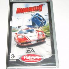Joc UMD pentru PSP - Burnout : Legends, nou, sigilat !!! - Jocuri PSP Ea Games, Curse auto-moto