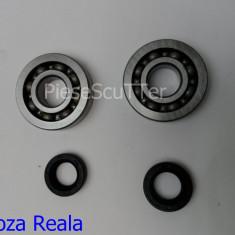 Rulmenti / rulment ambielaj + Simeringuri / Semeringuri scuter Gilera DNA / Ice / Runner / Runer / Stalker / Storm / TPH ( Typhoon ) / Easy Moving - Kit rulmenti Moto