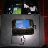 Telefon mobil Nokia N97 Mini, Negru, Neblocat - NOKIA N97 mini - original, in cutie cu Garmin instalat si suport parbriz