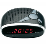 Radio cu ceas desteptator Ices ICR-200 argintiu