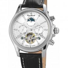 Ceas de lux Engelhardt Cederic Steel Silver, original, nou, cu factura si garantie! - Ceas barbatesc Engelhardt, Mecanic-Automatic