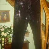 Pantaloni catifea Ralph Lauren M Top - Pantaloni dama, Lungi, Negru, M, Poliester