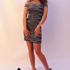 Rochie dama Atmosphere - Rochie cocktail, Marime: S, M, Marime: 36, Scurta, Fara maneca