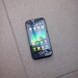Telefon LG, Gri, Vodafone - Vand LG OPTIMUS SOL E730 la cutie...geam spart, touch functional!