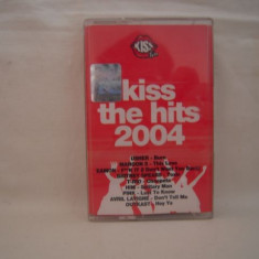 Vand caseta audio Kiss The Hits 2004, originala, selectie - Muzica Pop nova music, Casete audio