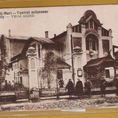 CAREII MARI SATU MARE TEATRUL 1920