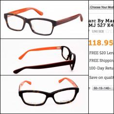 Rama ochelari - Rama Marc Jacobs MJ 527 portocaliu