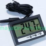 Termometru Digital Interior Exterior Si Ceas - Termometru Auto
