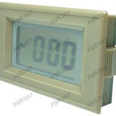 Voltmetru digital, LCD, 4 digiti, 0-50V - curent alternativ-111395