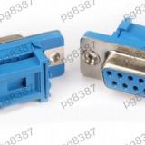 Conector DB9 mama, sertizare tip IDC-124007