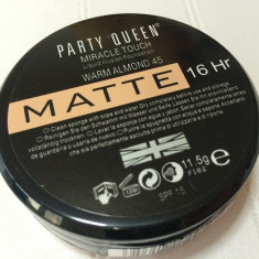 Fond de ten mat, Foundation, Party Queen Miracle touch MATTE, Lichid