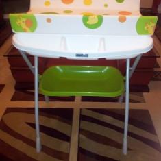 Cadita si masa infasat bebe - Masuta/scaun copii Altele