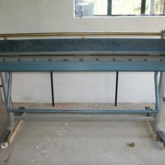Utilaj indoit (roluit) tabla - Masina de roluit