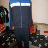 OFERTA ! Trening   100% ORIGINAL ASICS BUMBAC 100%  bluza+pantalon  MODEL 2014 adus din germania -S-