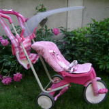 Tricicleta copii, ItsImagical Evolution 3 in 1, varsta: 6 luni - 4+ ani, Fata, Roz