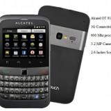 Smartphone ALCATEL OT 916 Black touch&qwerty - Telefon Alcatel, Negru, 4GB, Neblocat, Single SIM, Single core
