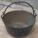 Metal/Fonta - Ceaun vechi din bronz, reducere