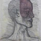 Portret - semnat  D.Lejeanu 2000