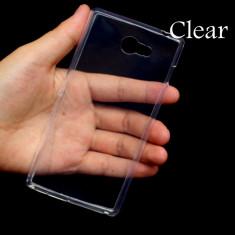 Husa Telefon Sony, Transparent, Gel TPU, Fara snur, Carcasa - Husa SONY Xperia M2 TPU 0.3mm Transparenta