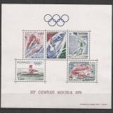 Monaco.1976 Olimpiada de vara MONTREAL-Bl. CM.162 - Timbre straine
