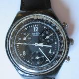 CEAS SWATCH CRONOGRAPH - Ceas barbatesc Swatch, Sport, Quartz, Piele, Cronograf, Analog