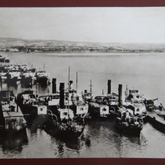 Vedere/Carte postala - Turnul Severin - Vedere din Port - Carte Postala Oltenia dupa 1918