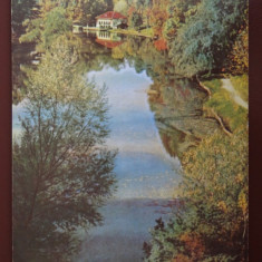 Vedere/Carte postala - Craoiva - Vedere din parcul Poporului - Carte Postala Oltenia dupa 1918