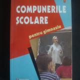 ELENA SANDU - COMPUNERILE SCOLARE PENTRU GIMNAZIU